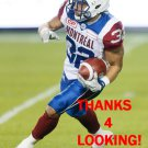 JONAH HODGES 2017 MONTREAL ALOUETTES CFL FOOTBALL CARD