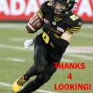 MIKE JONES 2017 HAMILTON TIGER-CATS  CFL FOOTBALL CARD