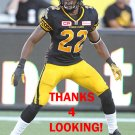 COURTNEY STEPHEN 2017 HAMILTON TIGER-CATS  CFL FOOTBALL CARD