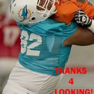 CHRIS BARKER 2013 MIAMI DOLPHINS FOOTBALL CARD