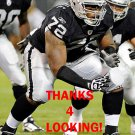 JOE BARKSDALE 2012 OAKLAND RAIDERS FOOTBALL CARD