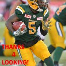 TRAVON VAN 2017 EDMONTON ESKIMOS CFL FOOTBALL CARD