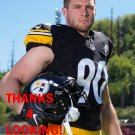 T.J. WATT 2017 PITTSBURGH STEELERS FOOTBALL CARD
