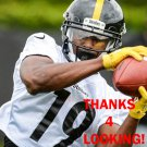 JUJU SMITH-SCHUSTER 2017 PITTSBURGH STEELERS FOOTBALL CARD