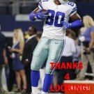 RICO GATHERS 2016 DALLAS COWBOYS FOOTBALL CARD