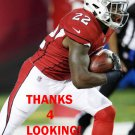 T.J. LOGAN 2017 ARIZONA CARDINALS FOOTBALL CARD