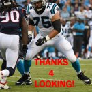 MATT KALIL 2017 CAROLINA PANTHERS FOOTBALL CARD