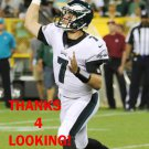 DANE EVANS 2017 PHILADELPHIA EAGLES FOOTBALL CARD