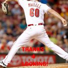MATT MAGILL 2016 CINCINNATI REDS BASEBALL CARD
