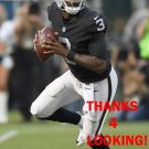 E.J. MANUEL 2017 OAKLAND RAIDERS FOOTBALL CARD