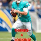 JAY CUTLER 2017 MIAMI DOLPHINS FOOTBALL CARD
