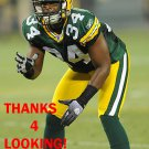 ANTHONY LEVINE 2012 GREEN BAY PACKERS FOOTBALL CARD