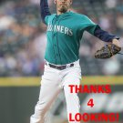 CHRISTIAN BERGMAN 2017 SEATTLE MARINERS BASEBALL CARD