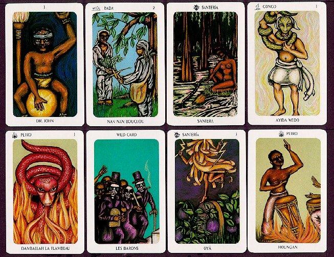 Tarot Reading: Two Paths Spread, VooDoo Tarot
