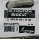 INDOOR ENCLOSED BALLAST - ADVANCE - 78E6592WC1