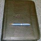 Durahyde Zippered Padfolio w/ SBA Engraved Pen