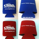Can Cooler (koozie) BLUE / RED