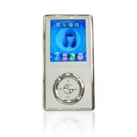 1GB 1.8-inch MP3 / MP4 Player with FM Radio