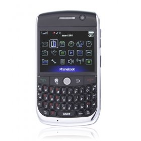 Dual Card Dual Camera Quad Band WIFI TV Function with Trackball QWERTY Keypad  (2GB TF Card)