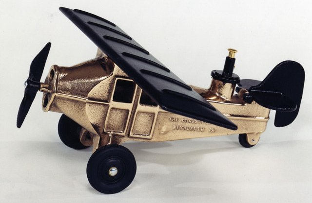 BOMBING PLANE RED BRASS 11PR -  $369 - FREE SHIPPING - DISCOUNT GIFTS ONLINE