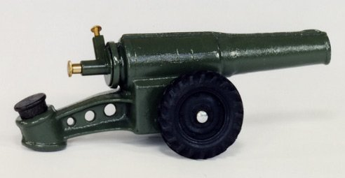 60 MM CANNON ON 2 RUBBER WHEELS 60MM -  FREE SHIPPING - DISCOUNT GIFTS ONLINE