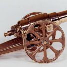 SMALL RED BRASS CANNON 7FRB - FREE SHIPPING - DISCOUNT GIFTS ONLINE
