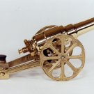 SMALL YELLOW BRASS CANNON 7FYB - FREE SHIPPING - DISCOUNT GIFTS ONLINE