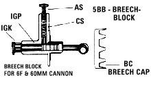 5BB BREECH BLOCK