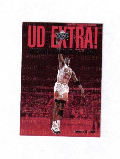 MICHAEL JORDAN 98-99 UPPER DECK UD EXTRA INSERT