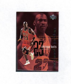 MICHAEL JORDAN 98-99 UPPER DECK CHECKLIST #311