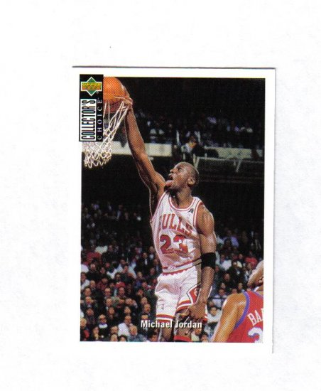 MICHAEL JORDAN 94-95 COLLECTORS CHOICE #240