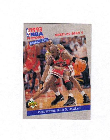MICHAEL JORDAN 93-94 UPPER DECK #180