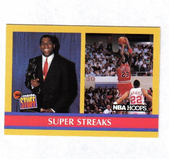 MICHAEL JORDAN / MAGIC JOHNSON 90-91 HOOPS BEHIND THE SCENES #385