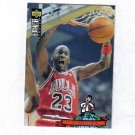 MICHAEL JORDAN 94-95 COLLECTORS CHOICE WORLD OF TRIVIA #402