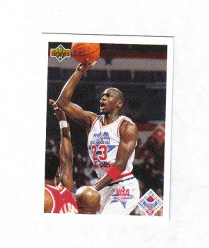 MICHAEL JORDAN 91-92 UPPER DECK #48