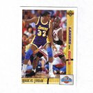 MICHAEL JORDAN / MAGIC JOHNSON 91-92 UPPER DECK CLASSIC CONFRONTATIONS #34