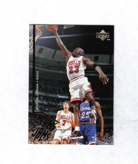 MICHAEL JORDAN 95-96 UPPER DECK SLAM & JAMS #352