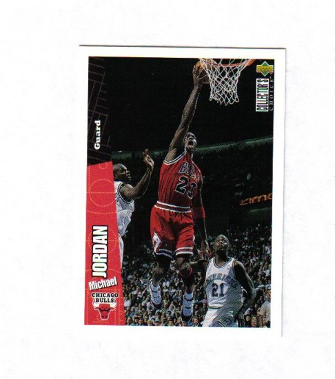 MICHAEL JORDAN 96-97 COLLECTORS CHOICE #23