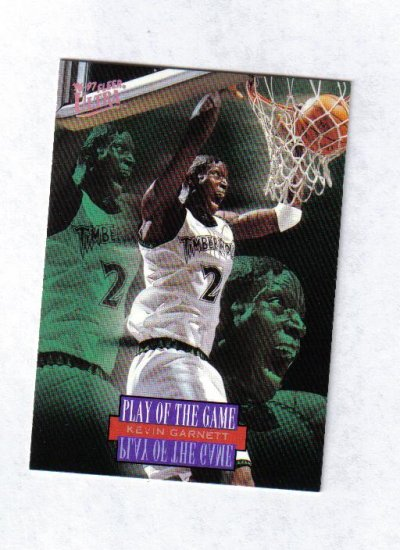 KEVIN GARNETT 96-97 ULTRA  PLAY OF THE GAME #290