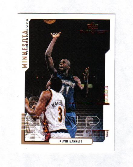 KEVIN GARNETT 00-01 COLLECTORS CHOICE CHECKLIST #190