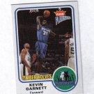KEVIN GARNETT 02-03 FLEER PLATINUM #15