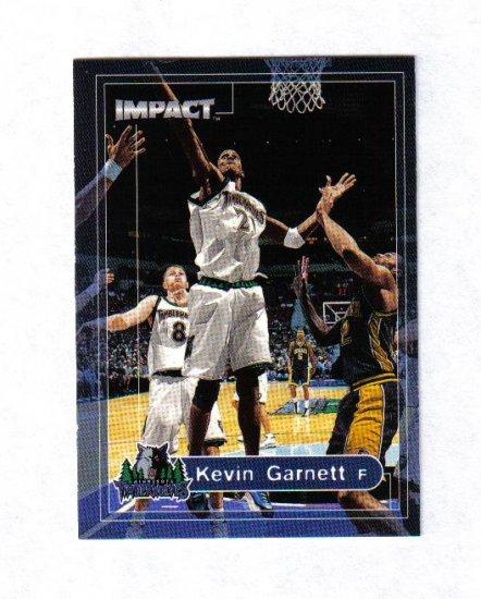 KEVIN GARNETT 99-00 SKYBOX IMPACT #94