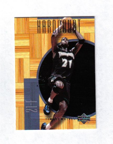 KEVIN GARNETT 00-01 UPPER DECK HARDCOURT #31