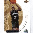 KEVIN GARNETT 00-01 UPPER DECK OVATION #31