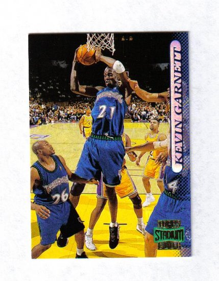 KEVIN GARNETT 96-97 STADIUM CLUB #177