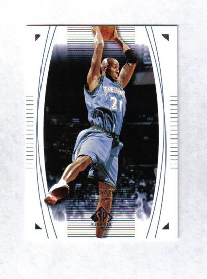 KEVIN GARNETT 03-04 SP AUTHENTIC #49