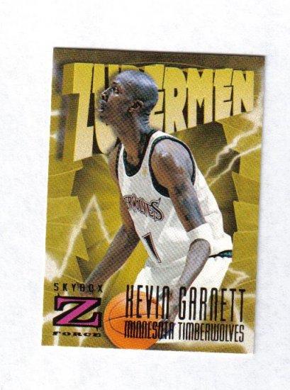 KEVIN GARNETT 96-97 Z-FORCE ZUPERMEN #173