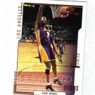 KOBE BRYANT 00-01 COLLECTORS CHOICE CHECKLIST #189