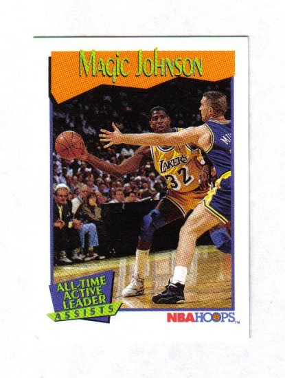 MAGIC JOHNSON 91-92 HOOPS #535