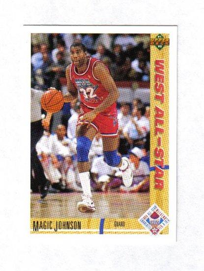 MAGIC JOHNSON 91-92 UPPER DECK ALL STAR #57